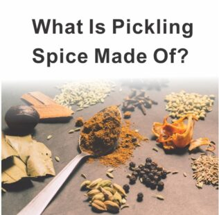 What Is Pickling Spice Made Of?